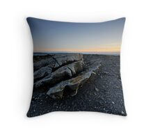 Galway Bay Sunset Throw Pillow