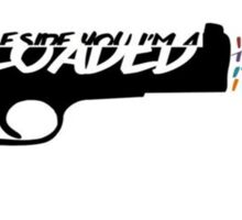 No Control Lyrics Sticker