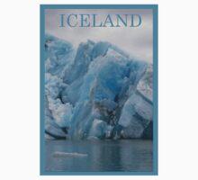 Nature Series/Blue Icebergs Baby Tee