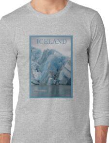 Nature Series/Blue Icebergs Long Sleeve T-Shirt