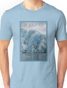 Nature Series/Blue Icebergs Unisex T-Shirt