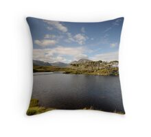 Derryclare Lough Throw Pillow