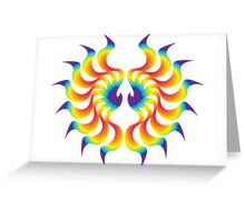 Phoenix Wing Greeting Card