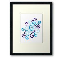 Swirl Pool Framed Print