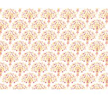 Doodle Fan Pattern Photographic Print
