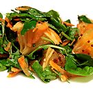Green salad with orange by Marta69