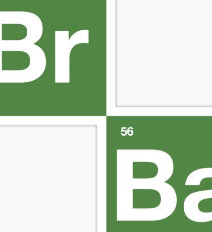 Breaking Bad - BrBa Logo Sticker