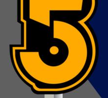 B5 Army of Light Large Logo Sticker