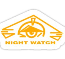 B5 Night Watch Small Logo Sticker