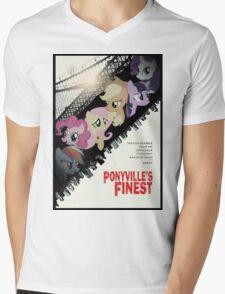 Ponyville's Finest Tee Mens V-Neck T-Shirt