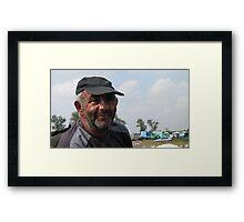 Horse dealer Ivan Framed Print