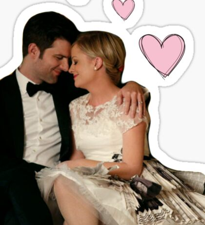 Parks Wedding Sticker