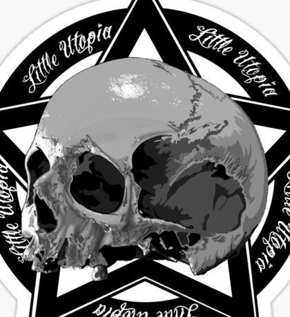 Skull Little Utopia Sticker