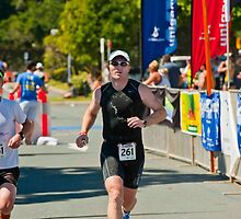 Kingscliff Triathlon 2011 Finish line B6360 by Gavin Lardner