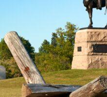 Gettysburg National Park - Meade Memorial - Gettysburg, PA Sticker