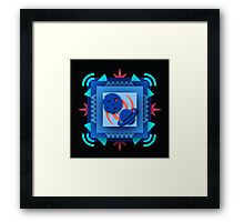Layers Of Space Framed Print