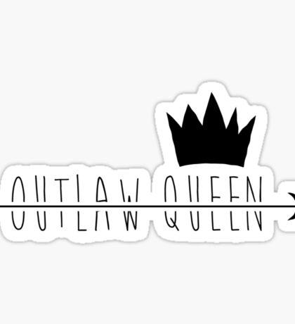 Outlaw Queen;  Sticker