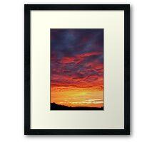 ...........WOW!! Framed Print