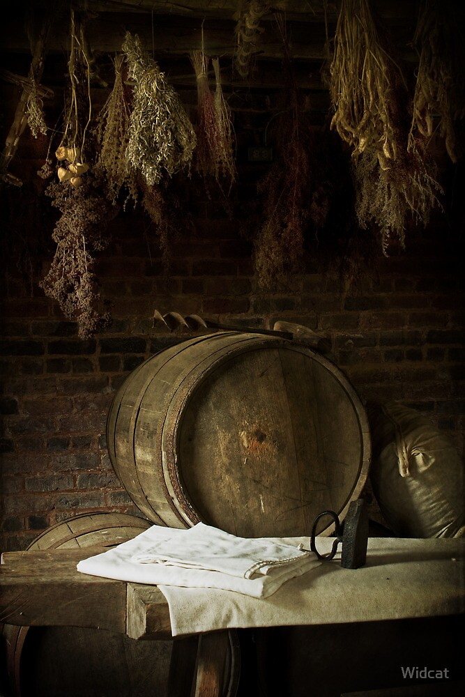 Barrels and Herbs by Widcat