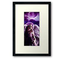 Todd's Gaurdian Angel Framed Print