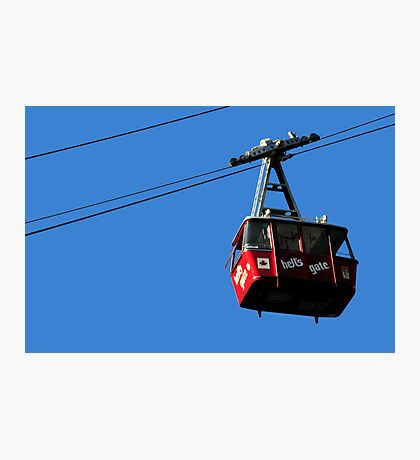 Airtram at Hell's Gate Fraser Valley Photographic Print