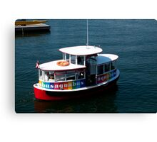 Aquabus to Granville Island Canvas Print