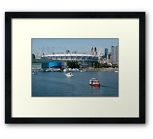BC Place Sports Venue Framed Print