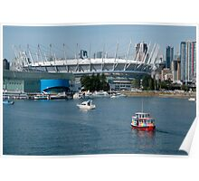 BC Place Sports Venue Poster