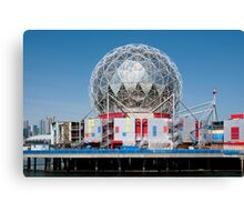 Science World in Vancouver Canvas Print