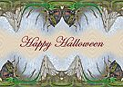 Halloween Fantasmagorical Cicada Card by MotherNature