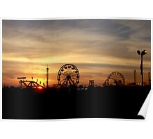 SC State Fair at Sunset I Poster