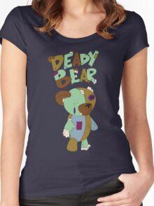 Deady Bear Women's Fitted Scoop T-Shirt