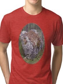 ROCK!!! Tri-blend T-Shirt