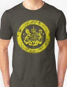 On her Majesty's secret service logo  - YELLOW T-Shirt