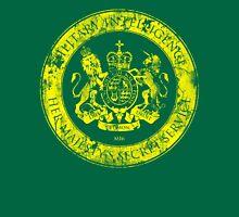 On her Majesty's secret service logo  - YELLOW Unisex T-Shirt