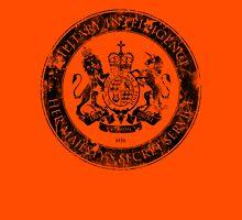 On her Majesty's secret service logo  - BLACK Unisex T-Shirt