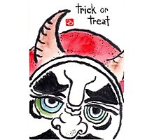 Halloween Daruma 1 (Holiday Daruma Series) Photographic Print