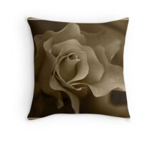 Drain my colour, but you will not steal my beauty Throw Pillow