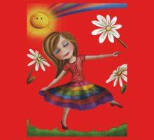 Rainbow Princess Kids Clothes