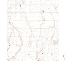 USGS Topo Map Oregon Rawhide Canyon 281232 1984 24000 by wetdryvac