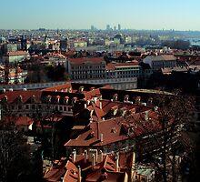 Budapest Skyline by Benjamin Sloma