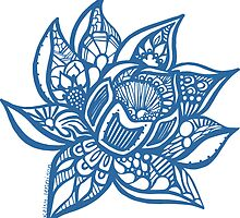 lotus_blue by kk3lsyy