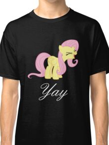 Fluttershy yay Classic T-Shirt