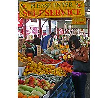 Queen Victoria Market, Melbourne. Photographic Print