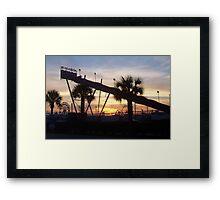 SC State Fair Sunset II Euroslide Framed Print