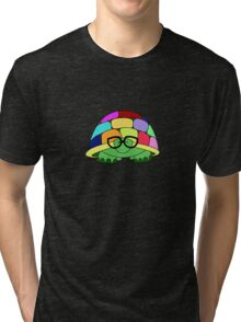 Comprehending Chromatic Chelonia Tri-blend T-Shirt