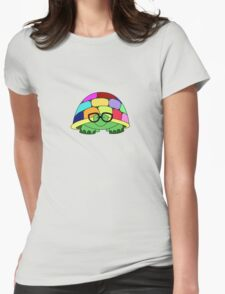 Comprehending Chromatic Chelonia Womens Fitted T-Shirt