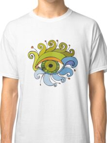 Eyes with eyelashes in the form of tentacles Classic T-Shirt