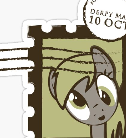 Derpy Mail Sticker