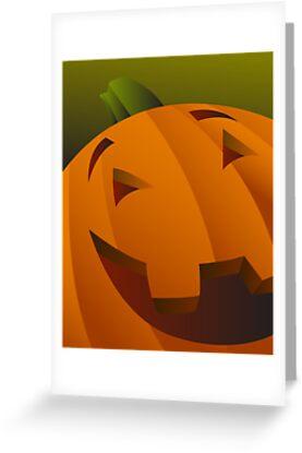 creepy Kids of Halloween_Pumpkin Jack by Michael Bruza